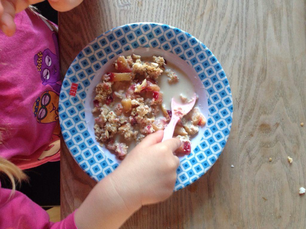 Blommetærte morgenmad