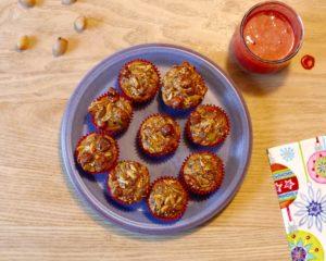 Nemme glutenfrie kernemuffins - lige til madpakken