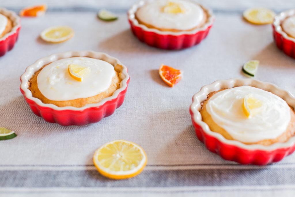 glutenfri citronmåne, glutenfri kage, glutenfri dessert