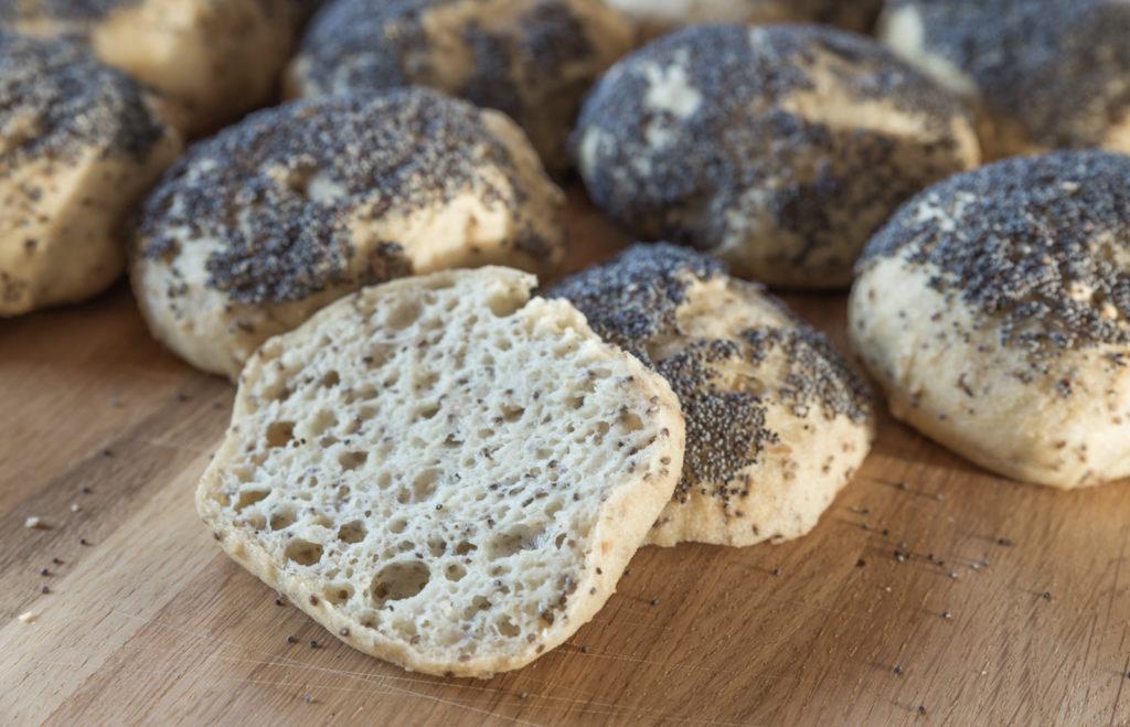 glutenfri rundstykker fryserundstykker sunde glutenfri rundstykker hjemmebagte fryserundstykker low fodmap venlig