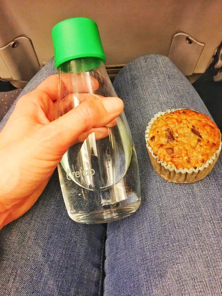 Sunde bananmuffins glutenfri Low FODMAP mad til flytur
