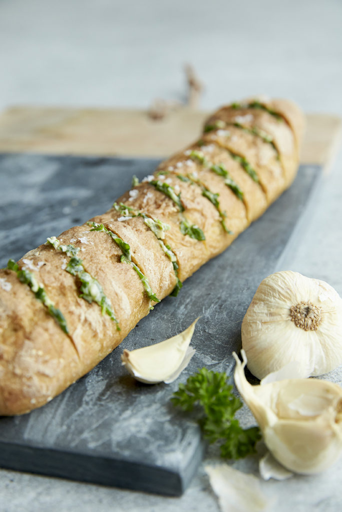 Undgå klægt glutenfrit brød og klæge glutenfri boller- lækkert glutenfrit hvidløgsflutes