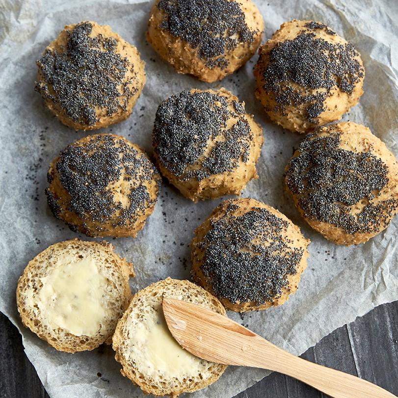 kursus i glutenfri bagning - lær at bage glutenfri rundstykker