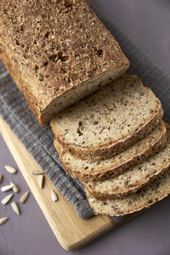 Mit brød smager glutenfrit - hvordan bager jeg groft glutenfrit brød?