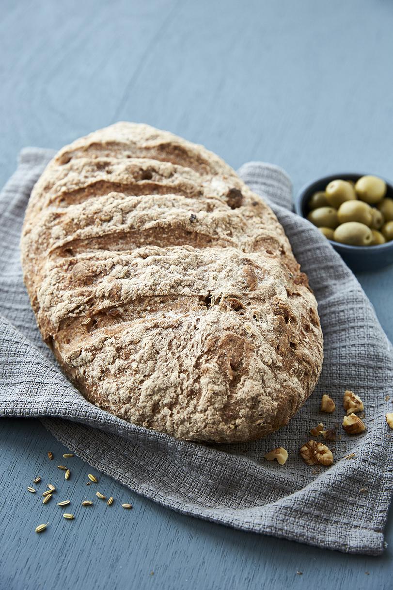 online glutenfri bagekursus - valnøddebrød