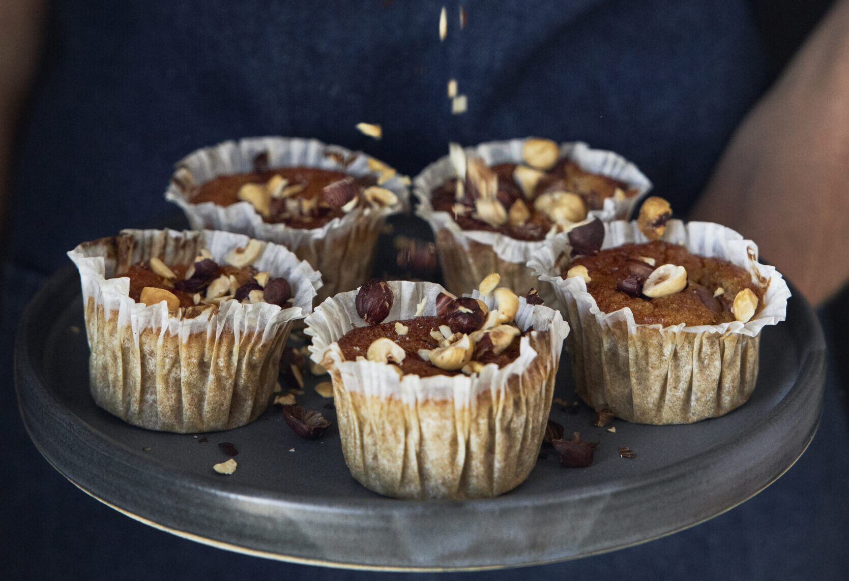 glutenfrie årstider - glutenfri æblemuffins