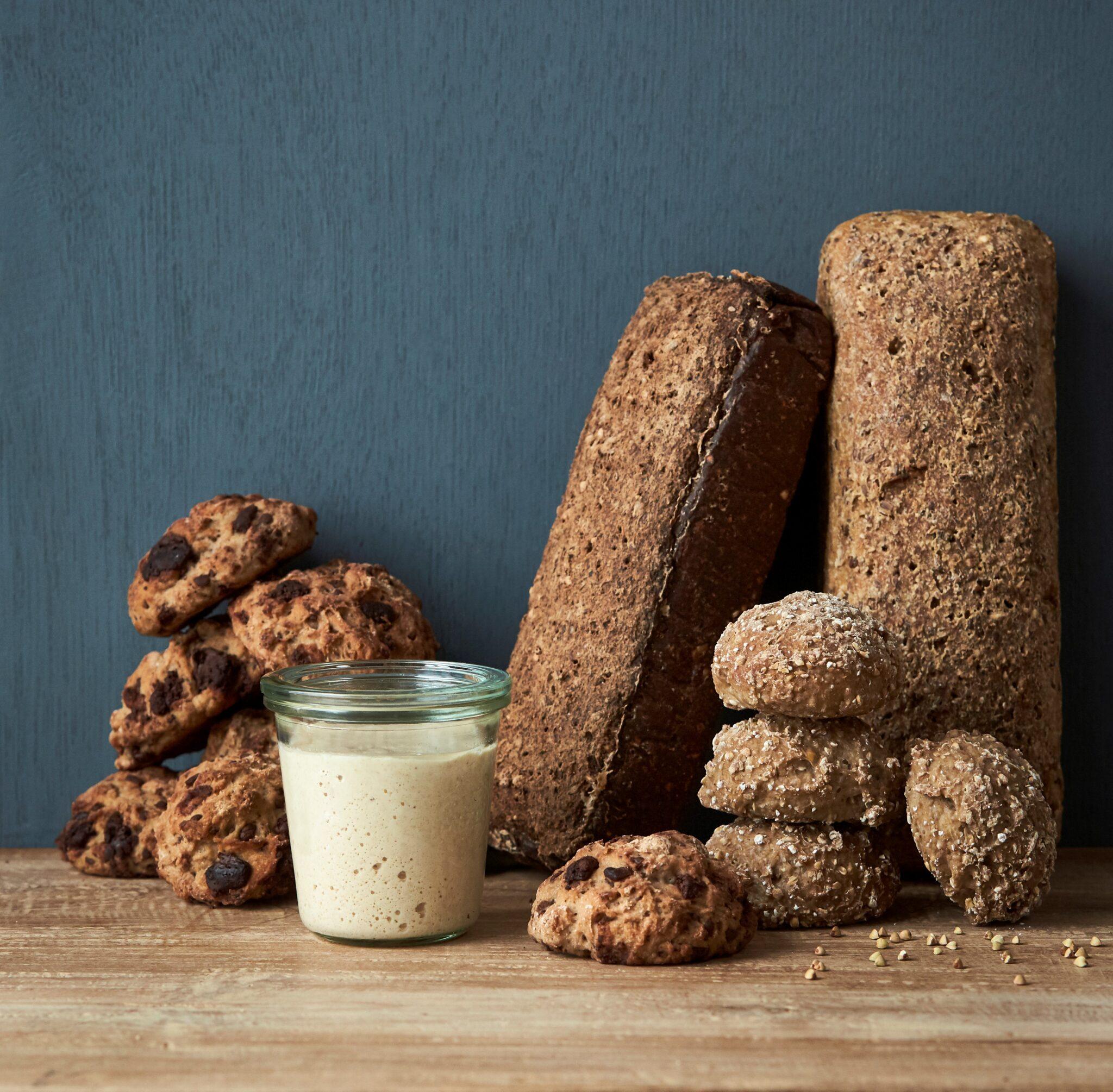 Surdej fra Knæk Koden til Glutenfrit Brød