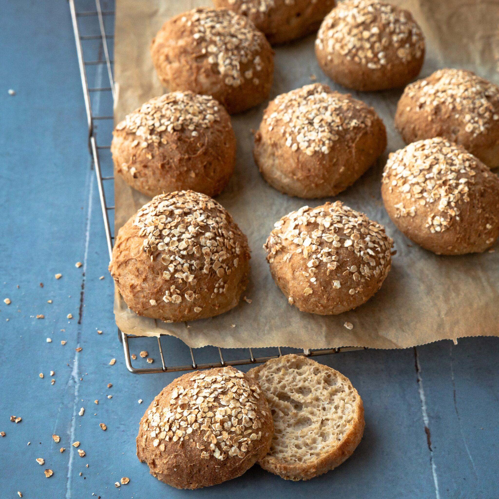 havreboller fra glutenfrit bageworkshop