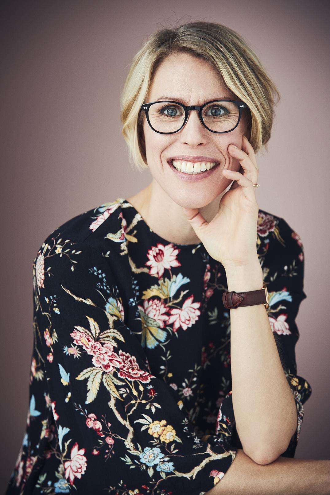 Billede af Karina Baagø, som er forfatter til bogen Madpakker uden gluten