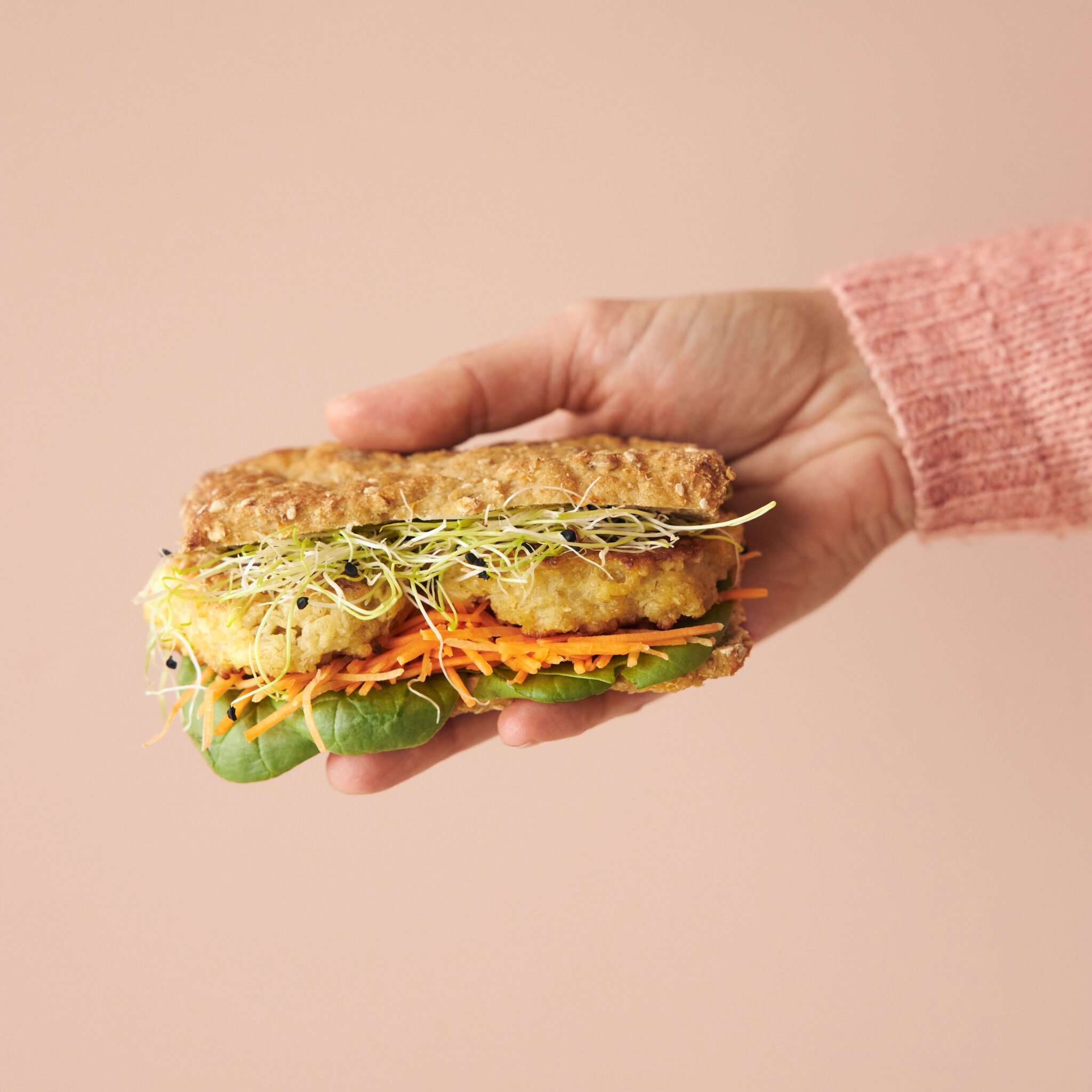 glutenfri sandwich med sæd kartoffel fra bogen Madpakker uden gluten